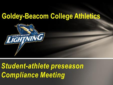 Goldey-Beacom College Athletics
