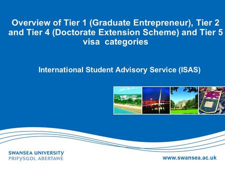 International Student Advisory Service (ISAS)