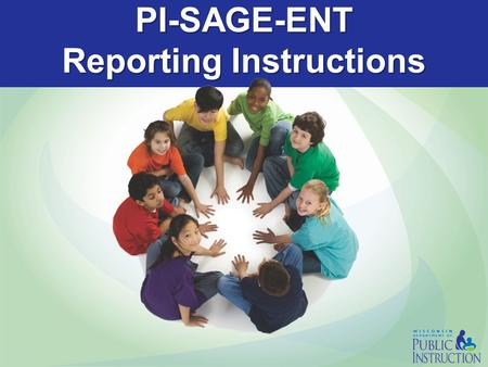 PI-SAGE-ENT Reporting Instructions Contents Click a topic below to proceed to that section or continue through the presentation Overview Flexibility.