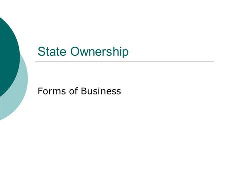 What are the major types of business in the private-sector and how do they differ from one another?