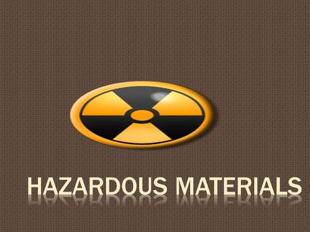  Knowledge of the proper procedures in the special handling, use, storage, and disposal of hazardous materials and wastes.