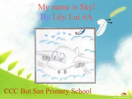 My name is Sky! By Lily Lui 6A CCC But San Primary School.