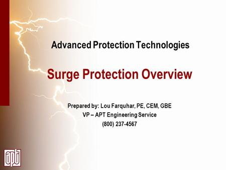 Advanced Protection Technologies