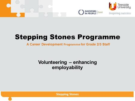 Stepping Stones Programme