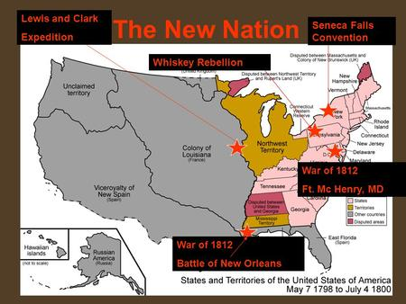 The New Nation Lewis and Clark Expedition Seneca Falls Convention