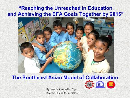 The Southeast Asian Model of Collaboration
