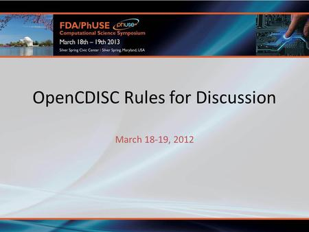 OpenCDISC Rules for Discussion