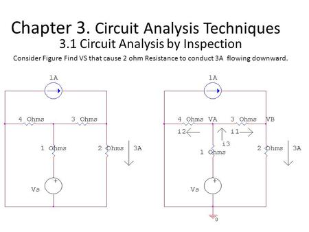 Chapter 3. Circuit Analysis Techniques