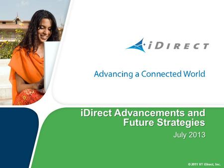 iDirect Advancements and Future Strategies