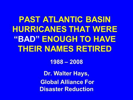 Global Alliance For Disaster Reduction