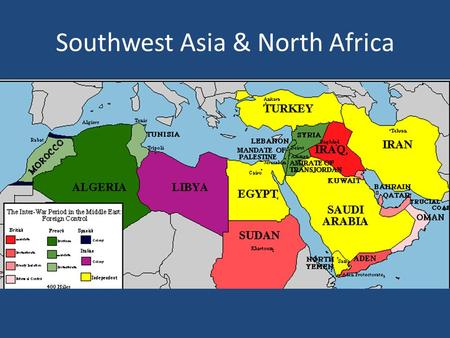 Southwest Asia & North Africa   ppt video online download