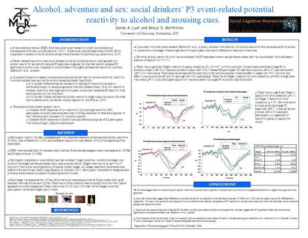 Event-related potentials (ERPs) have been used in past research to study the correlates and consequences of alcohol use (Porjesz et al., 2005). In particular,