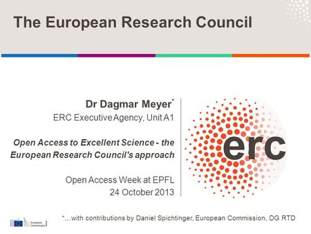 The European Research Council