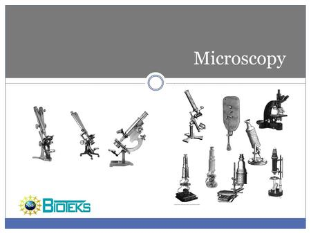 Microscopy Do you want a footer?.