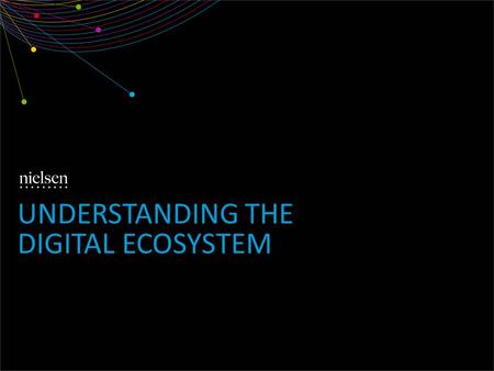 UNDERSTANDING THE DIGITAL ECOSYSTEM. Copyright ©2013 The Nielsen Company. Confidential and proprietary. 2 CONSUMERS SPEND 12 HOURS PER MONTH WITH DIGITAL.