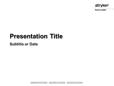 Presentation Title Subtitle or Date. Formatting Issues Addressed Bullets ●All bulleted slides (single, double, combo text/image, etc…) have been corrected.