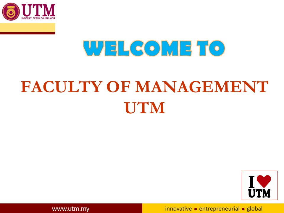 Faculty Of Management Utm Center For Humanities Studies Ppt Download