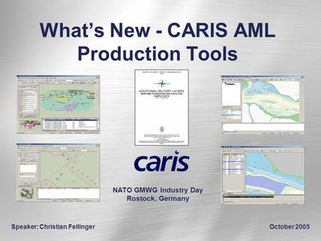 What's New - CARIS AML Production Tools