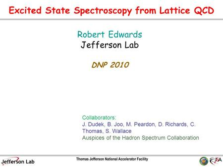 Excited State Spectroscopy from Lattice QCD