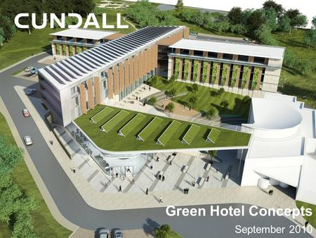 Green Hotel Concepts September 2010.