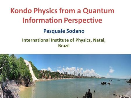 Kondo Physics from a Quantum Information Perspective