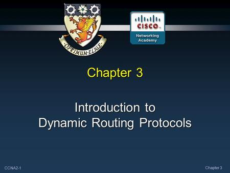 Introduction to Dynamic Routing Protocols