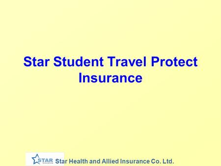 Star Student Travel Protect Insurance