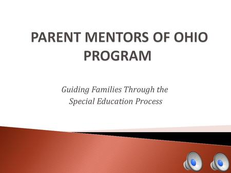 Guiding Families Through the Special Education Process.