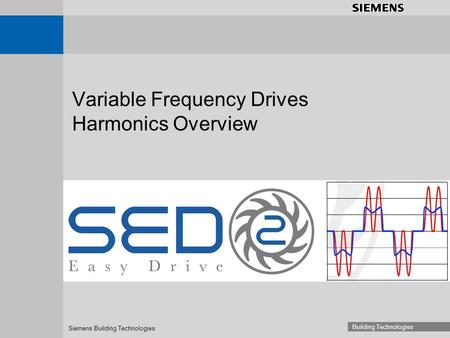 Siemens Building Technologies Building Technologies Variable Frequency Drives Harmonics Overview.