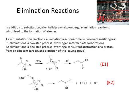 factors affecting e1 and e2 reactions pdf