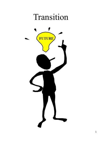 1 Transition FUTURE. 2 WHY FOCUS ON TRANSITION? One of the primary purposes of Public Law 108-446, the Individuals with Disabilities Education Act (IDEA),