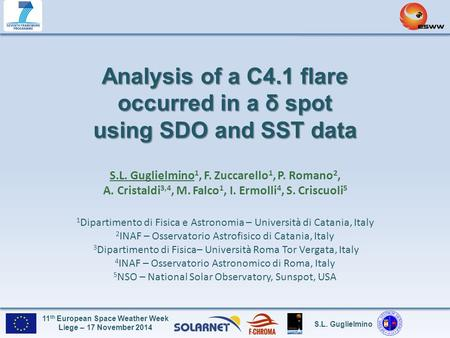 Analysis of a C4.1 flare occurred in a δ spot using SDO and SST data