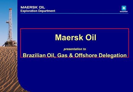 Brazilian Oil, Gas & Offshore Delegation