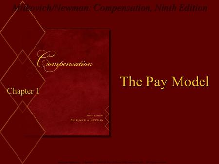 The Pay Model Chapter 1.