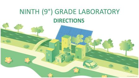 NINTH (9°) GRADE LABORATORY DIRECTIONS. LISTENING 1.Click the link below and solve points 1 and 2