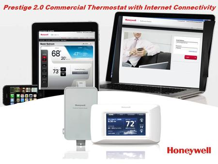 Prestige 2.0 Commercial Thermostat with Internet Connectivity.