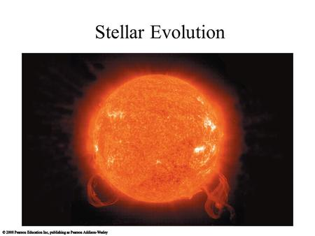 Stellar Evolution. A Closer Look at the Sun Our goals for learning: Why was the Sun's energy source a major mystery? Why does the Sun shine? What is the.