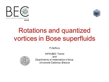 Rotations and quantized vortices in Bose superfluids