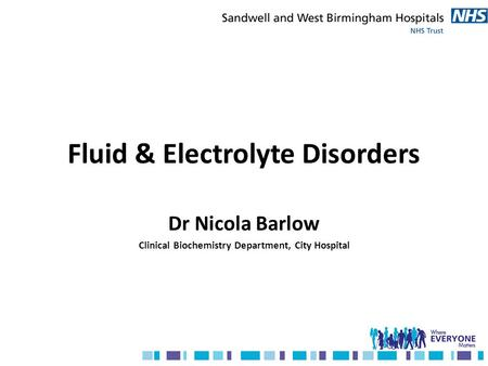 Fluid & Electrolyte Disorders