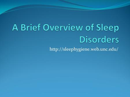 Sleep Apnea Sleep apnea is a sleep disorder that is characterized by pauses or decreased breathing lasting at least.