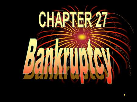 "1. 2 ""As in many areas of law, bankruptcy law must balance between competing interests. When an individual or business files for bankruptcy protection,"