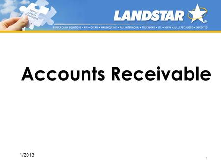 Accounts Receivable 1/2013.