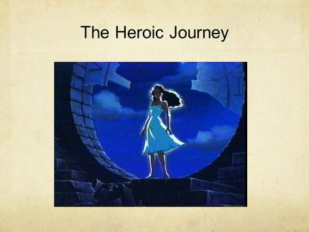 The Heroic Journey. Joseph Campbell Campbell developed his idea of heroes and how they operate in cultures built on work he did as an anthropologist.