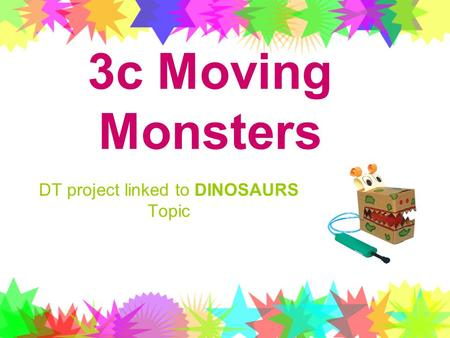 DT project linked to DINOSAURS Topic