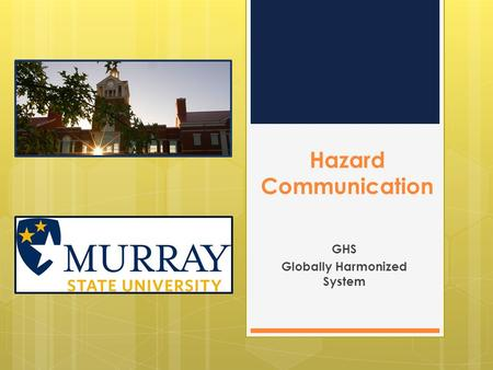 GHS Globally Harmonized System