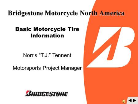 Bridgestone Motorcycle North America