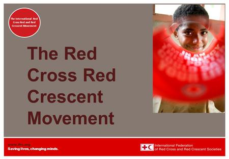 The Red Cross Red Crescent Movement