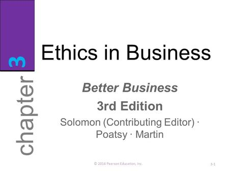ethics chapter 2 Chapter2 - introduction to ethics - free download as word doc (doc), pdf file (pdf), text file (txt) or read online for free.