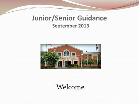 Junior/Senior Guidance September 2013 Welcome. Counseling Staff Amanda Breeden 469.742.8713 All Students A-F Lissa Testa469.742.8709 All Students G-M.