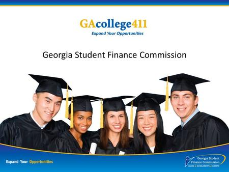 Georgia Student Finance Commission Who Are You?